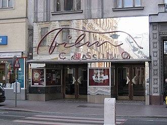 Margareten - Entrance to Filmcasino