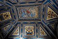 Firenze - Florence - Galleria degli Uffizi - View on one of the Uffizi Ceilings in the Entrance Hall on the Ground floor II.jpg