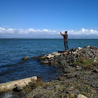 Coyote Point Park - Image: Fishing (22261049086)