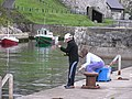 Fishing in Ballintoy Harbour - geograph.org.uk - 130507.jpg