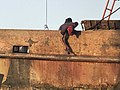 Fishing vessel maintenance Vacamonte Panama fishing harbor Shipyard Panama.jpg