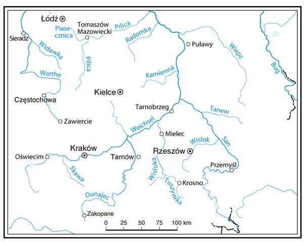 File Flusse In Polen San Pilica Wiepz Weichsel Png Wikimedia