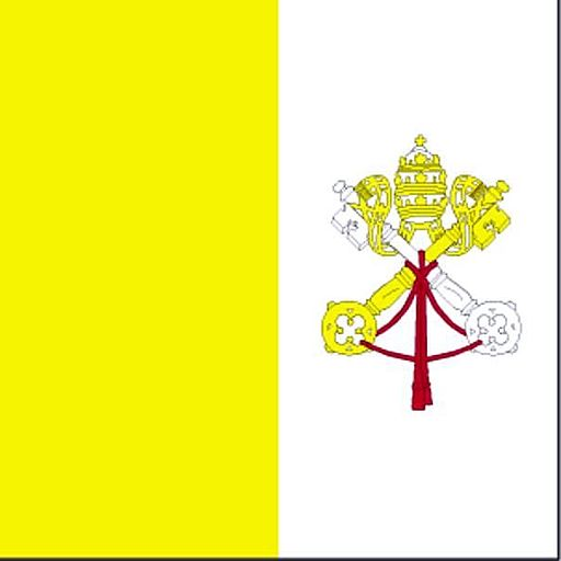 Flag of Holy See Vatican City