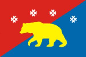 Kosinsky District - Image: Flag of Kosinsky rayon (Perm krai)