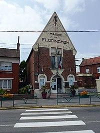 Floringhem (Pas-de-Calais, Fr) mairie.JPG