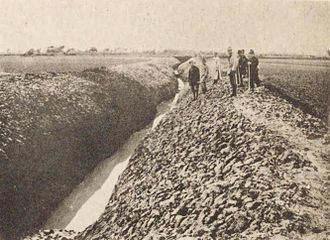 Wanpaoshan Incident - Irrigation ditch at Wanpaoshan which sparked rioting between Chinese and Korean settlers