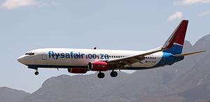 FlySafair - FlySafair B737-844 ZS-SJR