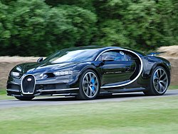 Bugatti Chiron na Goodwood Festival of Speed v roce 2016