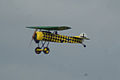 Fokker D.VIII Lt See Gotthard Sachsenberg Pass two 01 Dawn Patrol NMUSAF 26Sept09 (14599916885).jpg