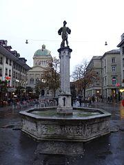 Bärenplatz fountain