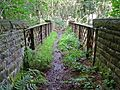 Footbridge over the Rishworth Branch (2826150480).jpg