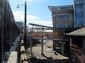 Footbridge to Salem station, April 2015.JPG