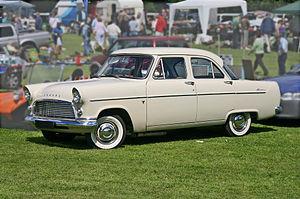 Ford Consul - 1956 Ford Consul Mark II Saloon (204E)