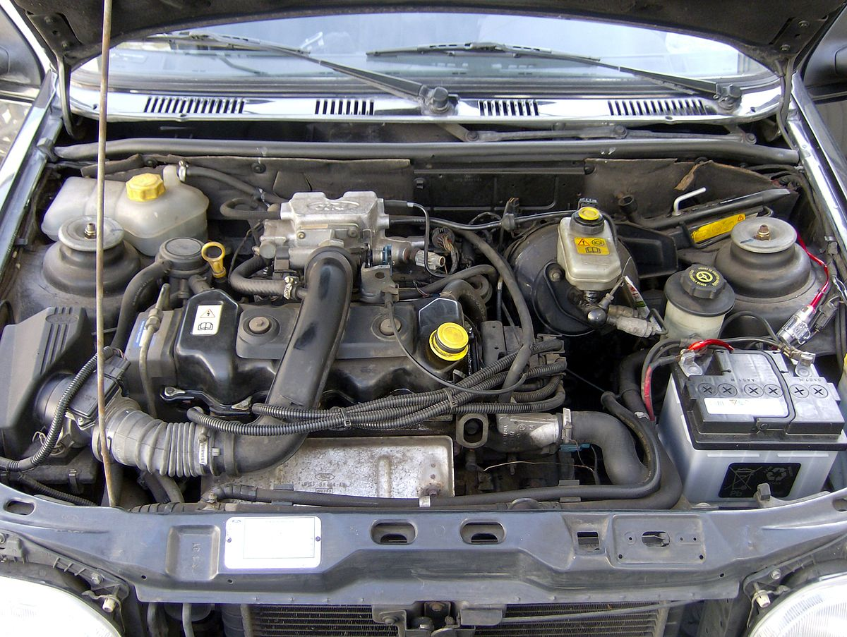 1200px Ford_Fiesta_MK3_GFJ_1995_engine ford cvh engine wikipedia 1984 Mercury Lynx Hatchback at nearapp.co