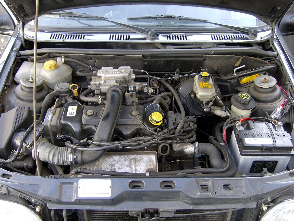 1200px Ford_Fiesta_MK3_GFJ_1995_engine ford cvh engine wikipedia 1984 Mercury Lynx Hatchback at sewacar.co