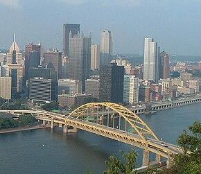 Fort Pitt Bridge - Wikipedia