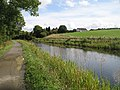 Forth and Clyde Canal approaching Milnquater - geograph.org.uk - 1460321.jpg