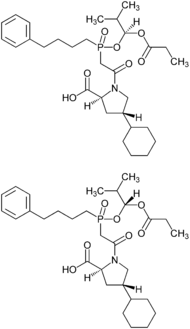 Fosinopril Diastereomers Structural Formulae.png