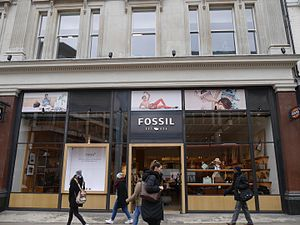 Fossil Group - Fossil store, Oxford Street, London, 2016
