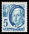 Fr. Zone Württemberg 1948 30 Friedrich Hölderlin.jpg
