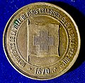 Franco-Prussian War 1870 Red Cross Medal, Bateaux-Mouche Boats for Wounded Soldiers, obverse.jpg