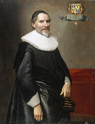 Francis van Aarssens - François van Aerssen by Michiel van Mierevelt