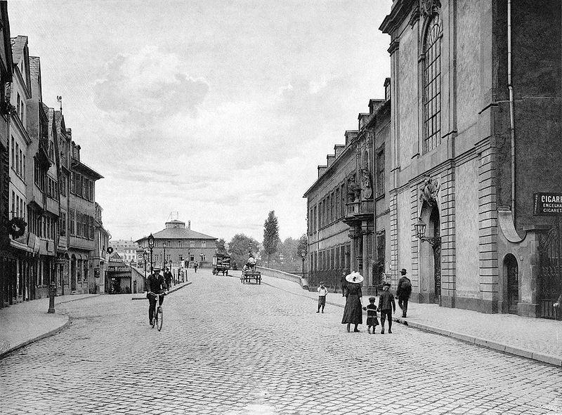 File:Frankfurt Am Main-Fay-BADAFAMNDN-Heft 26-Nr 302-1911-Bruecke mit Deutsch-Herrnhaus.jpg