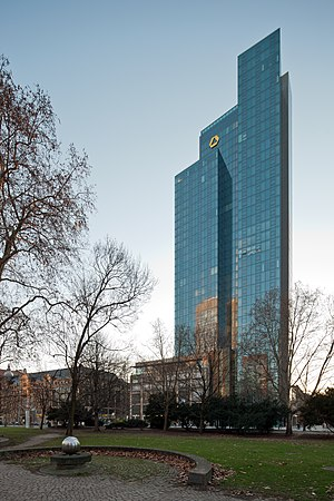 Dresdner Bank - The Gallileo building (completed in 2003) was also part of the head office of Dresdner Bank