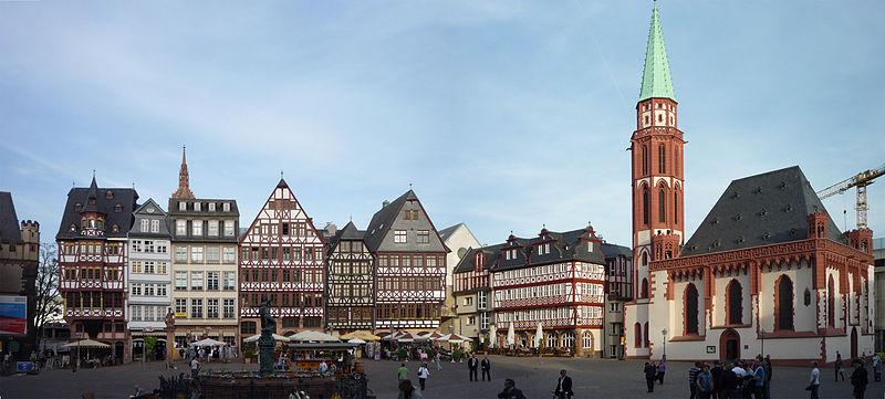 Frankfurt Römer Meydanı (Frankfurt Römerberg)
