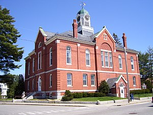 Farmington, Maine - Franklin County Courthouse