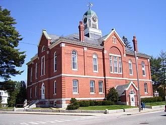 Farmington, Maine - Franklin County Courthouse