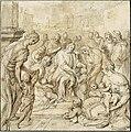 Frans Pourbus I - Christ Blessing Children (Suffer little Children to come unto me...).jpg
