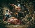 Franz Geyling Der tapfere Retter 1856.jpg
