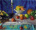 Franz Nölken Stilleben mit Leuchter und Ananas.jpg