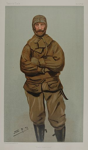 Frederick George Jackson - Jackson caricature by Spy for Vanity Fair, 1897