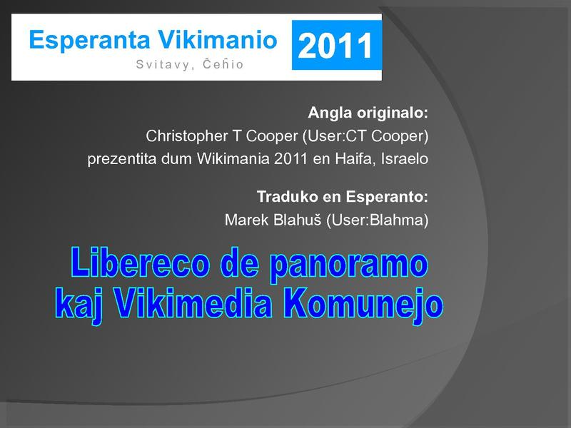 File:Freedom of panorama and Wikimedia Commons-eo.pdf
