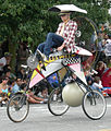 Fremont Solstice Parade 2007 - airplane cycle 02A.jpg