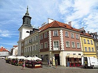 Warsaw New Town - Freta Street, which runs through the center of New Town