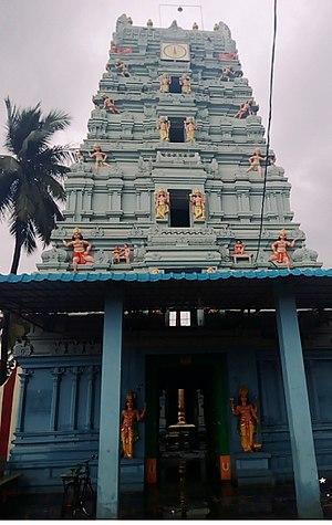 Andhra Vishnu - Front view of Andhra Vishnu temple
