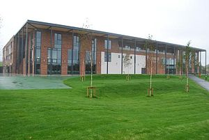 Furness Academy - Furness Academy's newbuild seen from Park Drive in September 2013