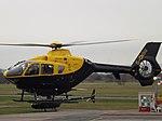 G-CHSU Eurocopter EC135 Helicopter (2 Excel Aviation Ltd) (46085447604).jpg