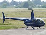 G-JAKF Robinson Raven R-44 Helicopter (26727964294).jpg