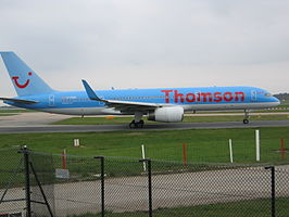 Een Boeing 757 van Thomson Airways