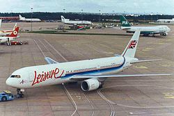 Boeing 767-300 der Leisure International Airways