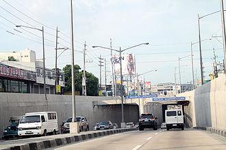 Quezon Avenue - Gregorio Araneta Underpass