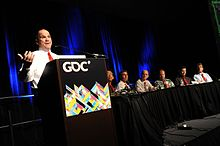 Image du staff de Donkey Kong Country Returns à la GDC 2011