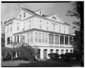 GENERAL VIEW, FROM SOUTHWEST - Governor Thomas Bennett House, 1 Lucas Street, Charleston, Charleston County, SC HABS SC,10-CHAR,124-5.tif