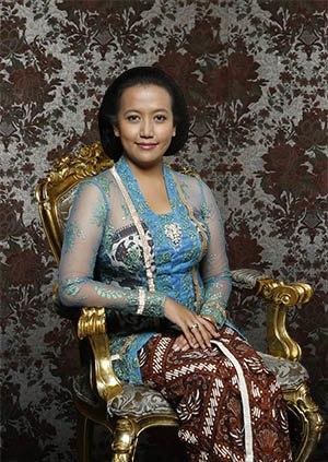 Princess Hayu - Wedding portrait, 2013