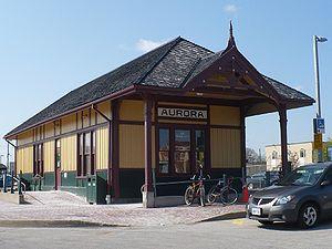 Aurora, Ontario - Historic Aurora Train Station