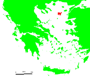 Chryse (island) - Location of Lemnos